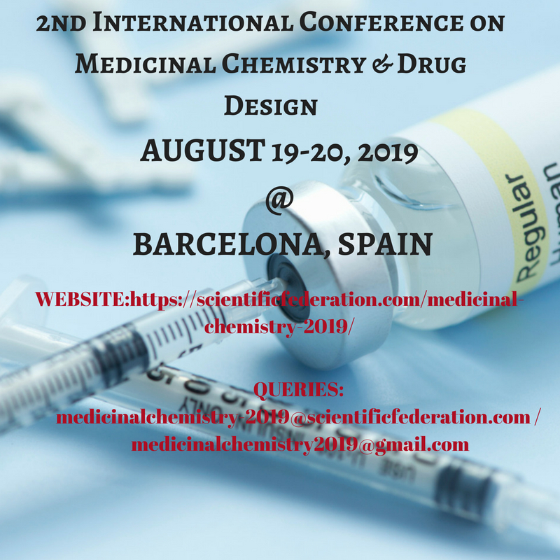 2nd International Conference on Medicinal Chemistry & Drug Design
