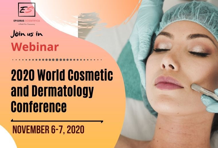 Live Webinar on 2020 World Cosmetic and Dermatology Conference